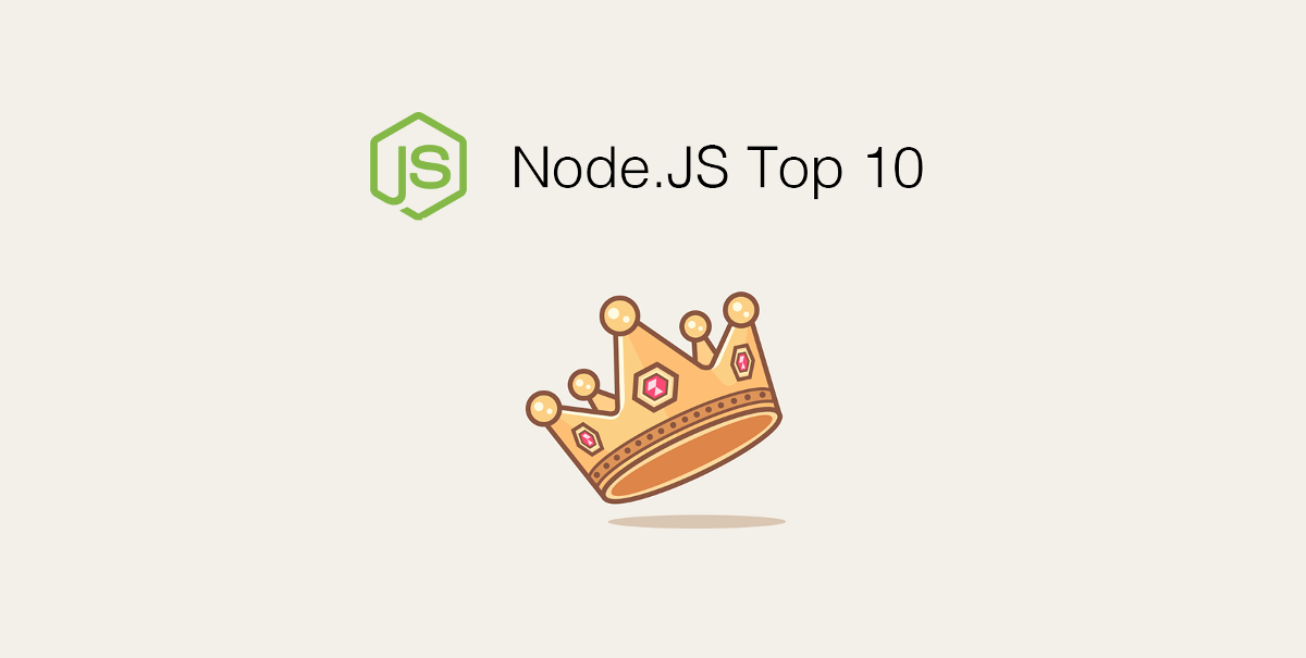 Node.JS Top 10 Articles For The Past Month