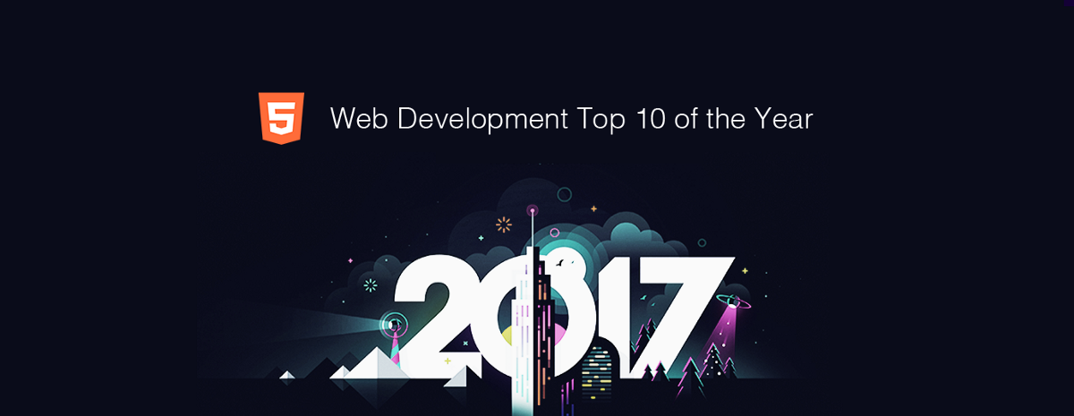 Web Development Top 10 for the Past Year (v.2017)
