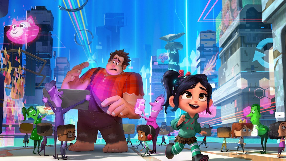 Ralph Breaks The Internet 2018 Six Years After The Events Of Wreck It By Charing Kam Frame Rated Medium