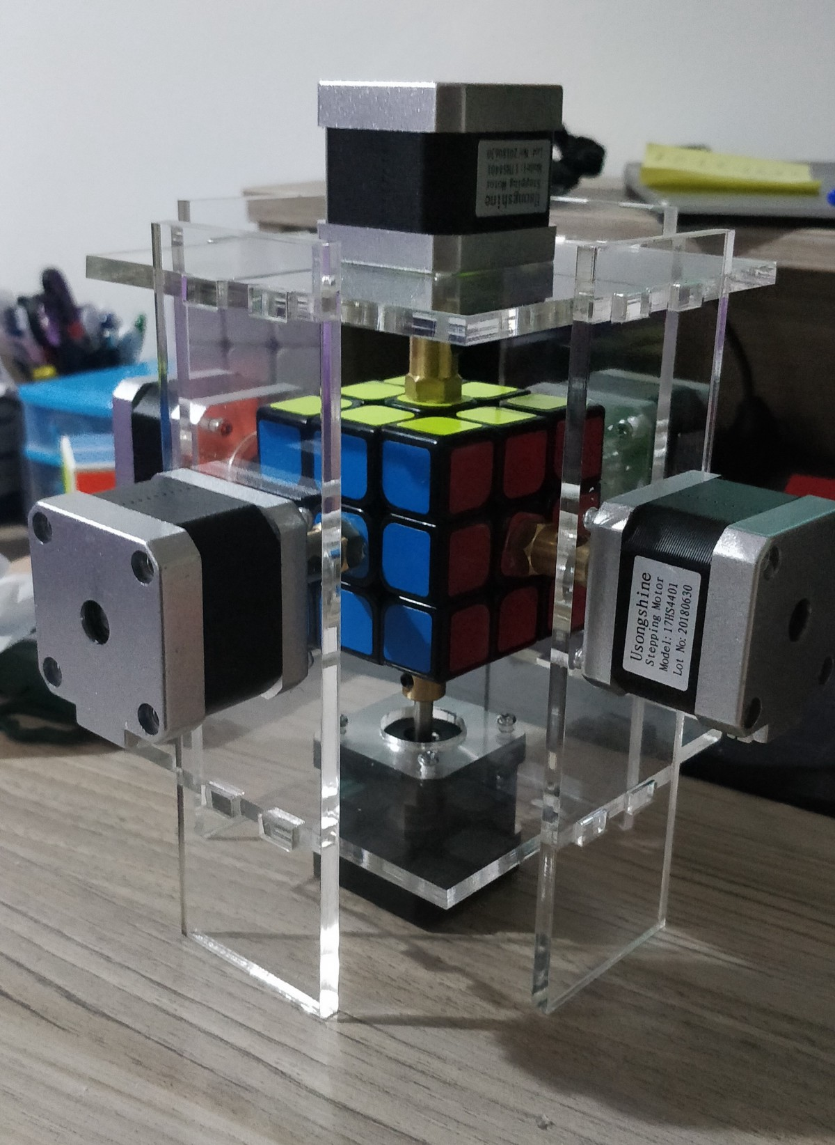 From zero to Rubik's cube solving robot - Noteworthy - The Journal Blog