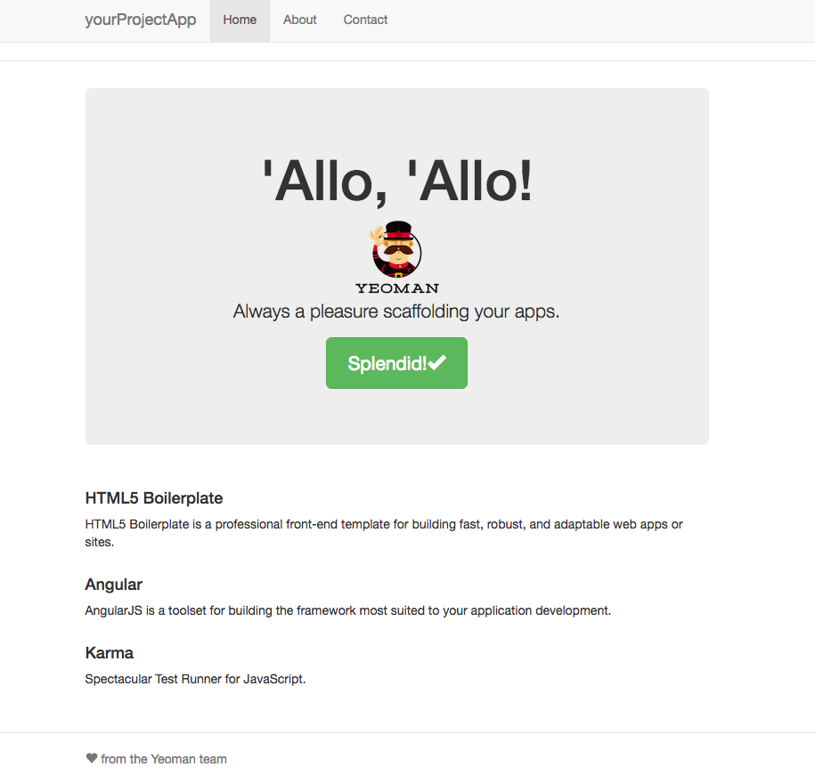 From zero to deploying an AngularJS 1 x App on Github Pages and