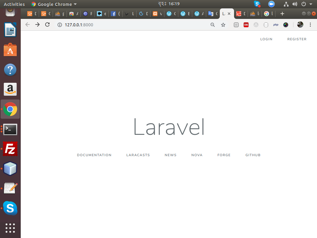 A complete Laravel CRUD using Laravel Resource API with Vue Js