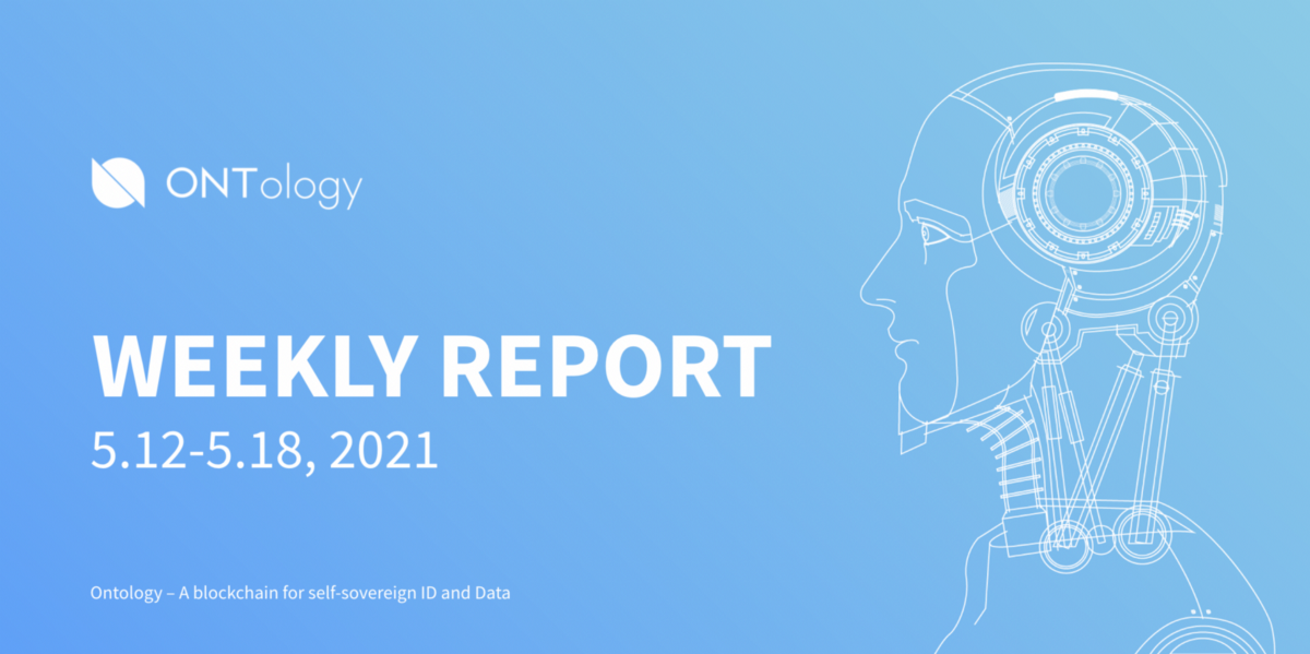 Ontology Weekly Report (May 12th–18th, 2021)