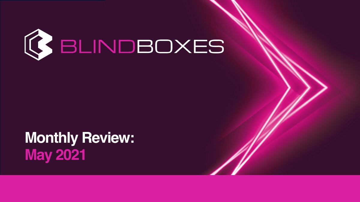 Blind Boxes Monthly Review: May 2021