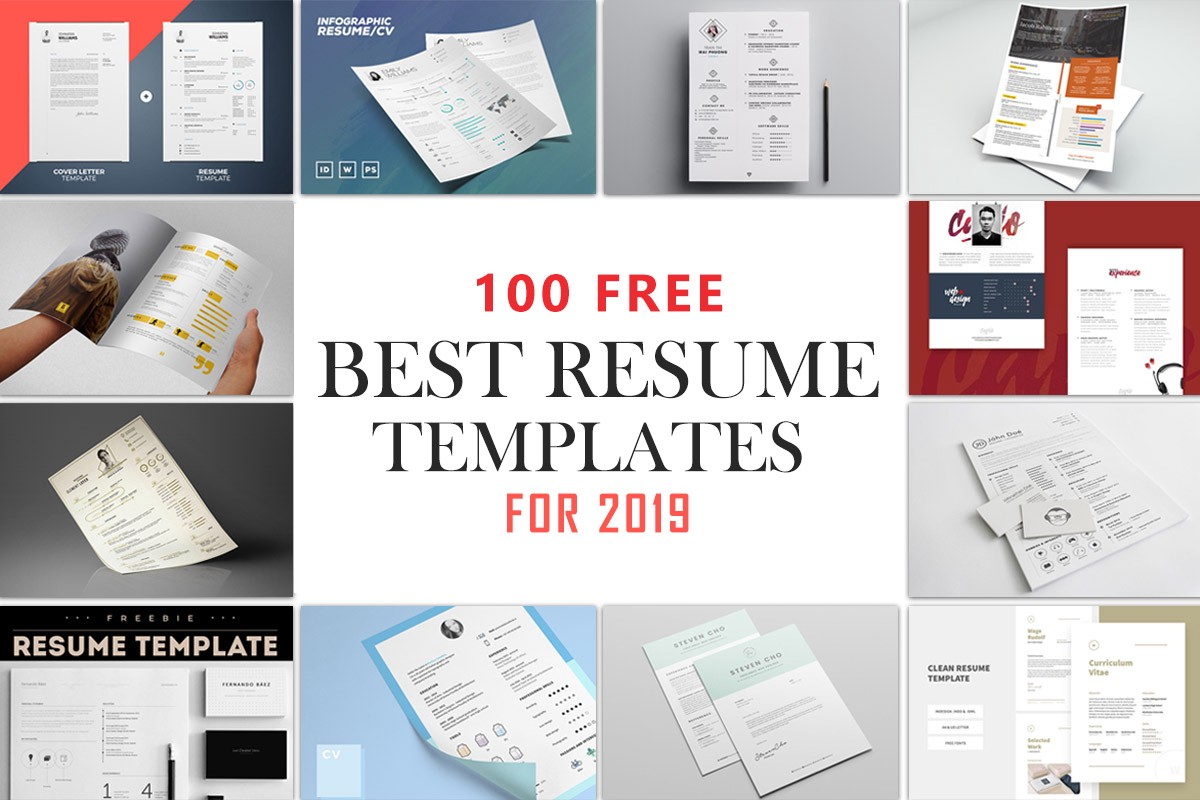 100 Free Best Resume Templates For 2020 By Syed Faraz Ahmad Medium