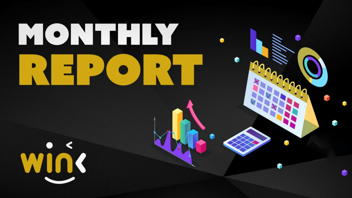 WINK MONTHLY REPORT FOR NOVEMBER