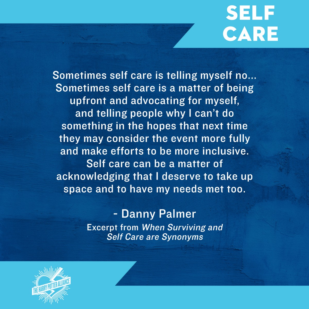 When Surviving and Self Care Are Synonyms - the Wizard ...