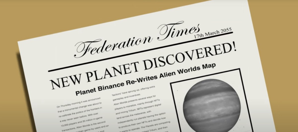 New Planet Discovered in Alien Worlds!