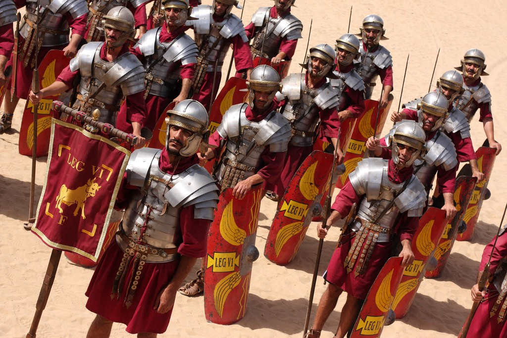 Decimation - The Cruelest Punishment in the Roman Army   History of  Yesterday