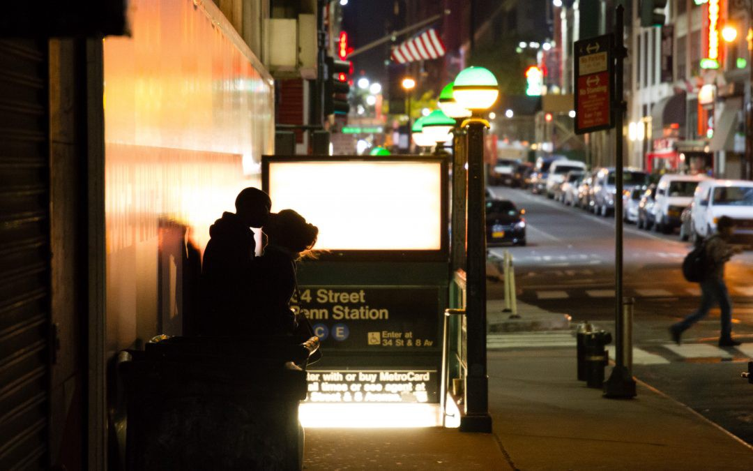 Image result for love in nyc photography at night