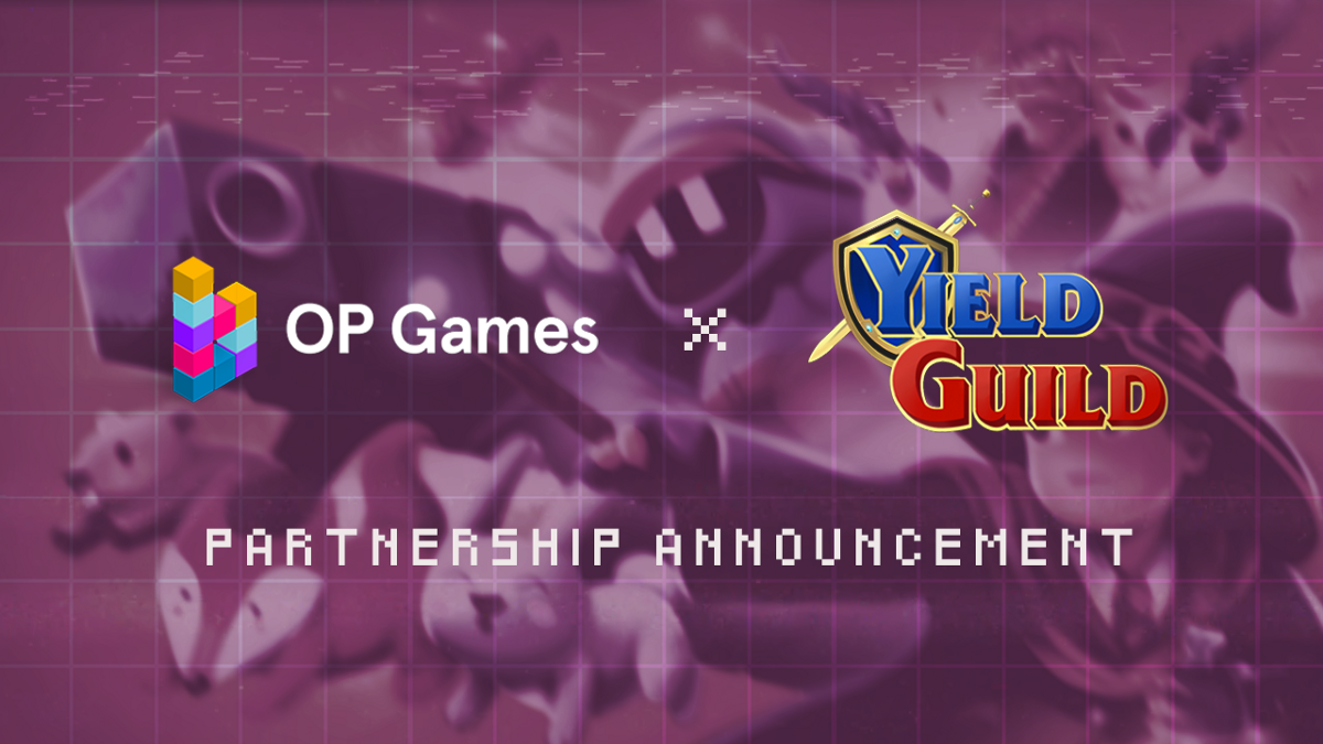 medium.com - OPGames - OP Games Partners with Play-To-Earn Gaming Guild, Yield Guild Games