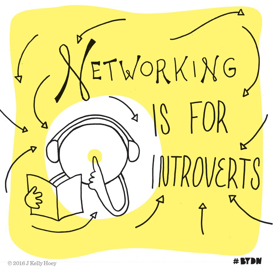 Quit Faking It — Networking Is Easier When It's Authentic #BYDN