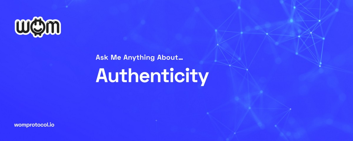Ask Me Anything About…. Authenticity