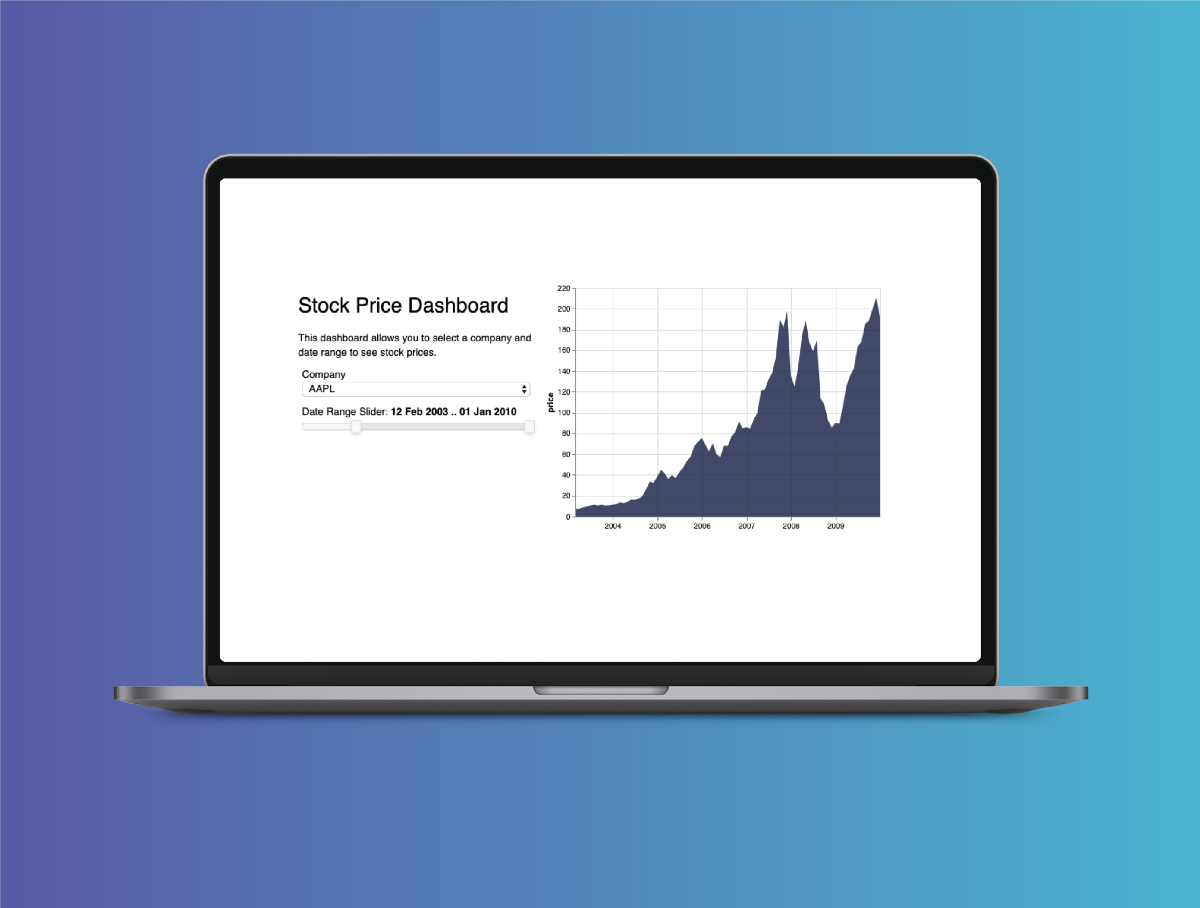 How to build a time series dashboard in Python with Panel, Altair and a Jupyter Notebook