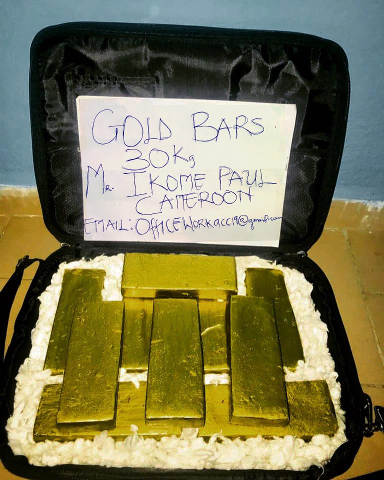 Buy Gold from Cameroon, West Africa  - office work - Medium