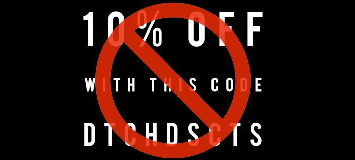 Sell Discount Codes