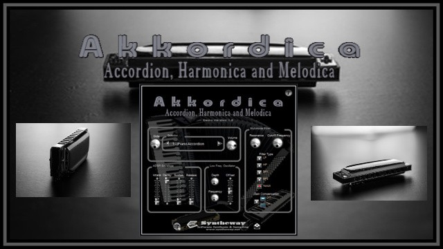 Virtual Harmonica VST Plugin: Akkordica by Syntheway  VST for