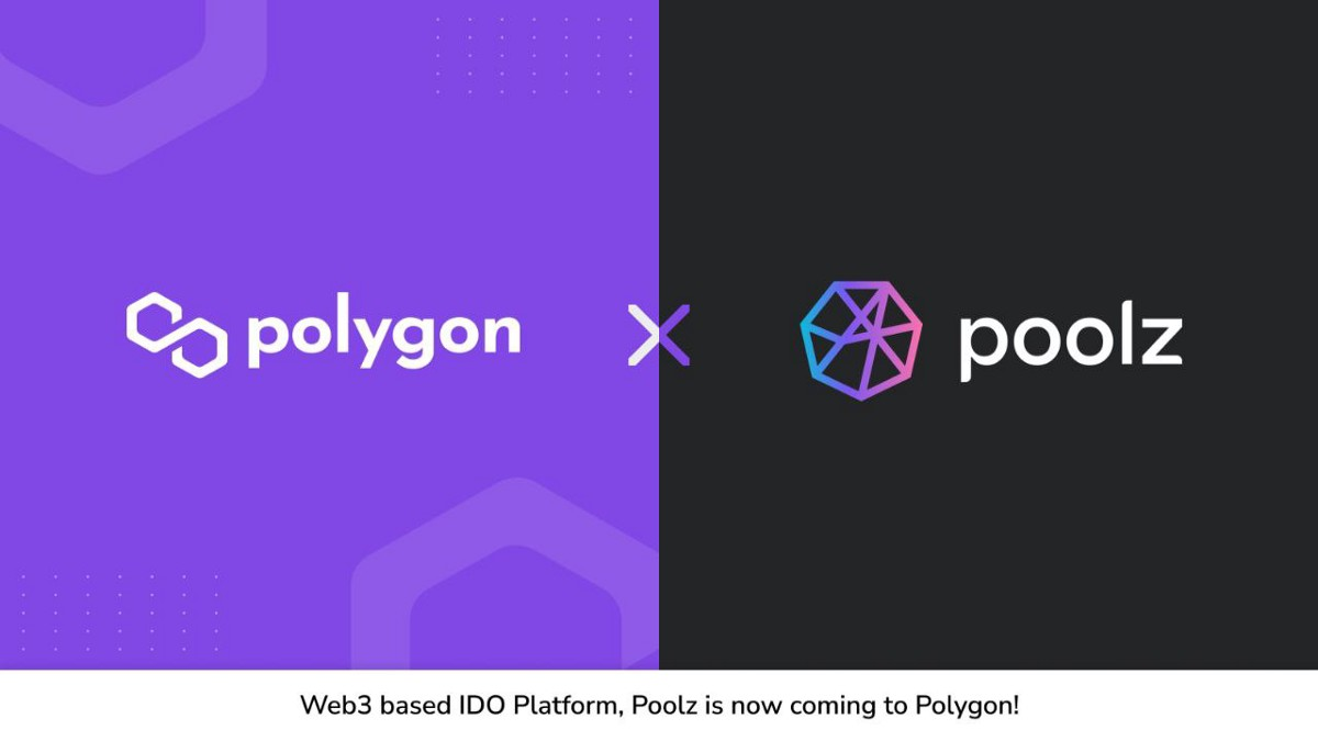 Poolz Collaborate with Polygon to Conduct IDOs Based on the Polygon Network