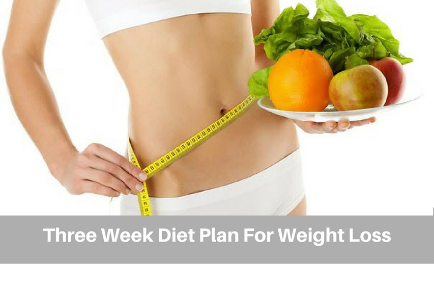 how to lose weight in three weeks naturally
