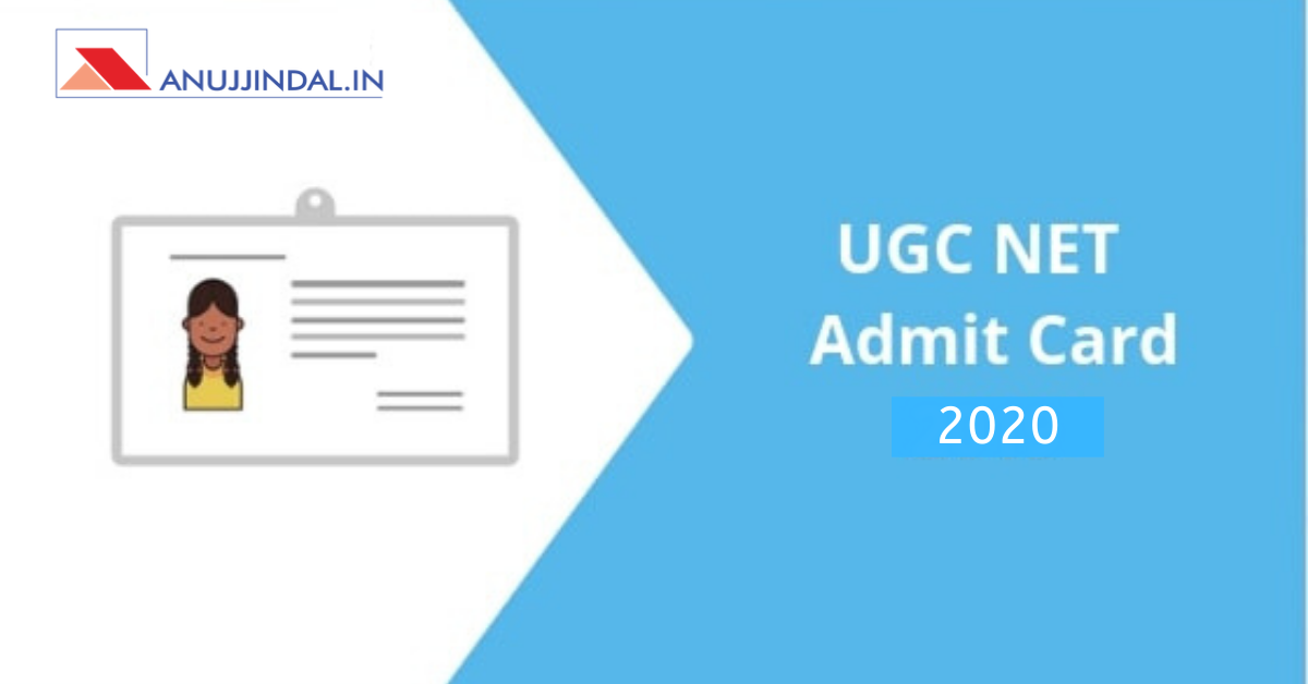UGC NET Exam Admit Card 2020