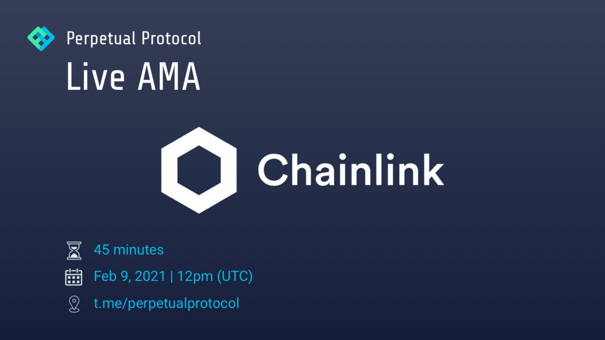 Perpetual Protocol Live AMA with Chainlink