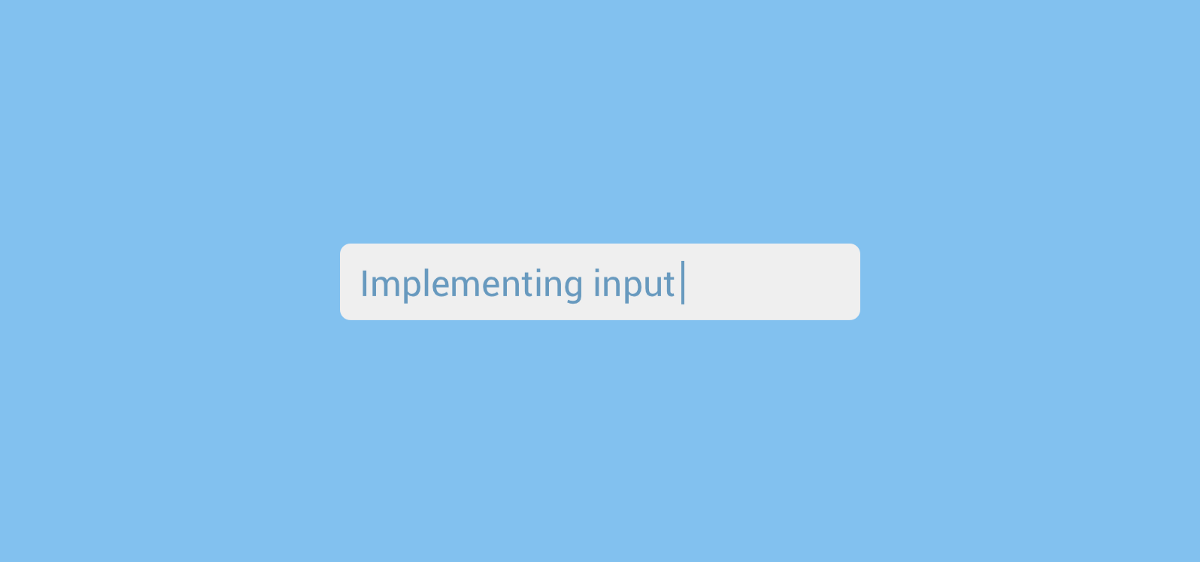 Implementing text input in Flutter apps - FlutterDoc