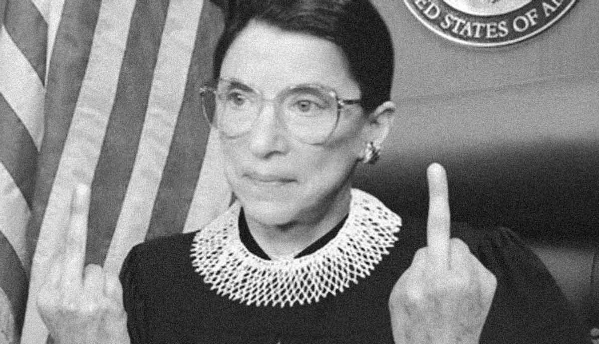 Ruth Bader Ginsburg Is Under The Influence By Dave Pell Medium