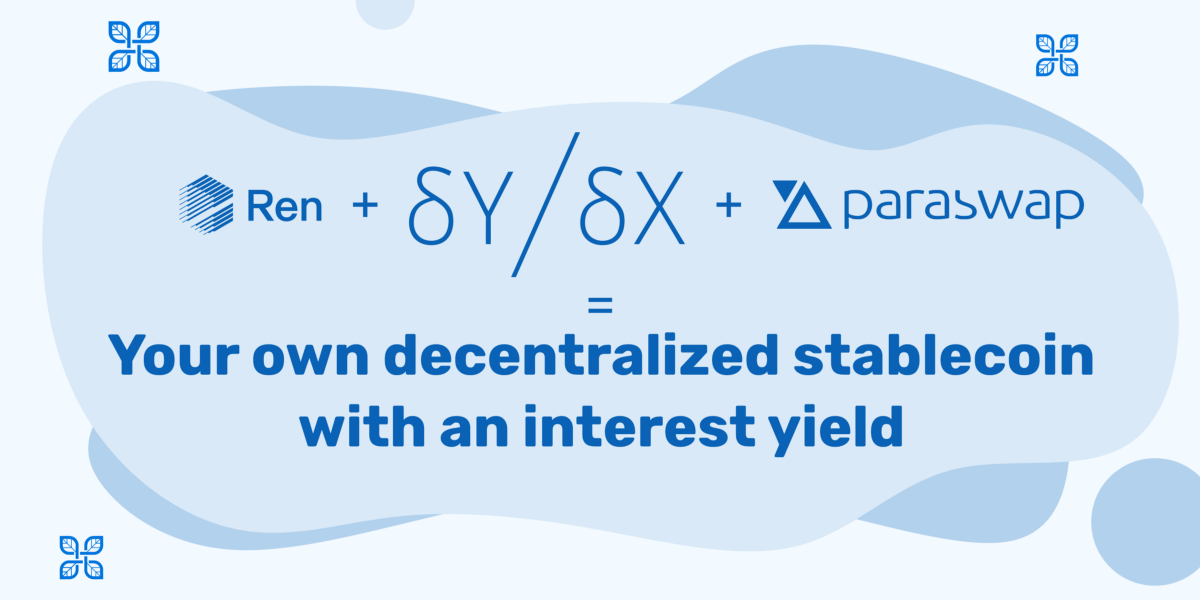 A simple guide to create your own decentralized Stablecoin with an interest yield using dYdX…