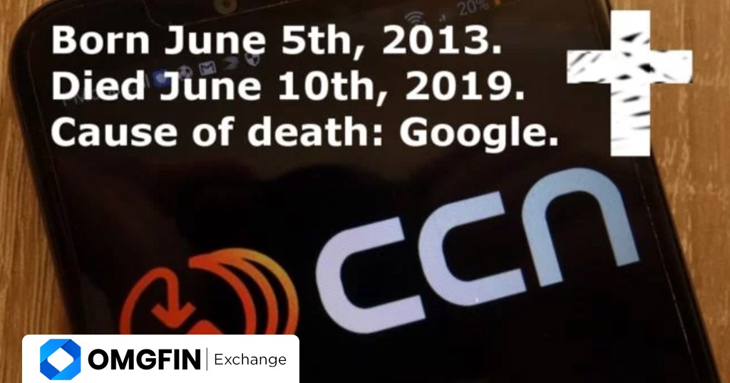 CCN Shuts Down After Major Google Search Update - Omgfin Exchange