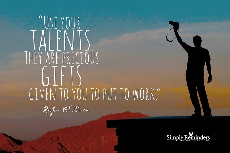 Implementing Your Gifts and Talents - Matt De Nure - Medium