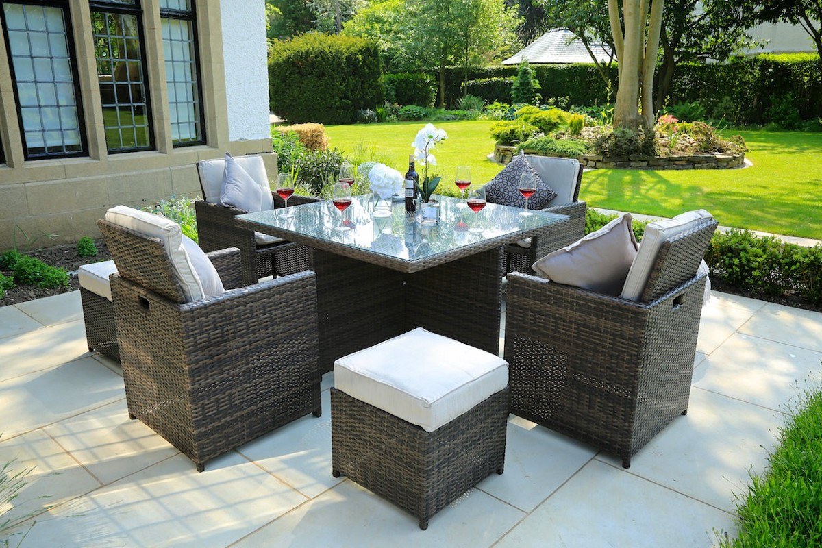 Enjoy the benefits of every season with rattan furniture  by