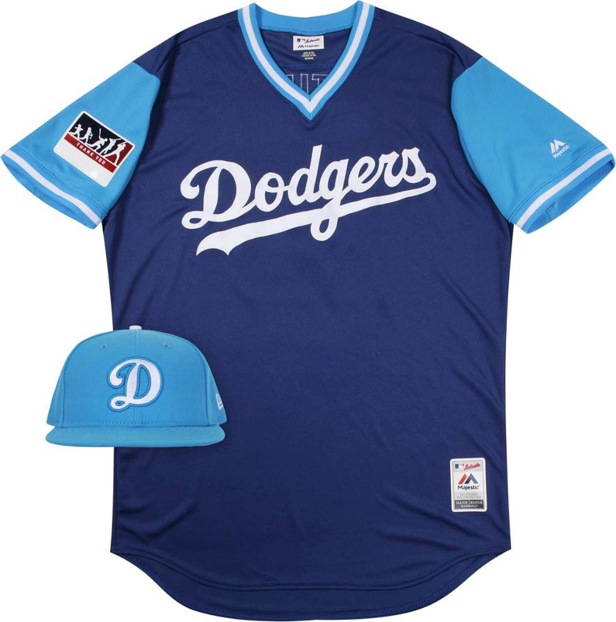reputable site 17c54 dc980 Dodger players share nicknames on Players Weekend - Dodger ...