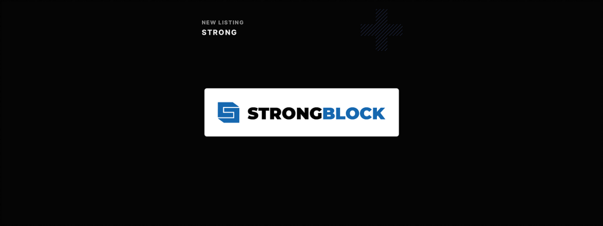 Eterbase Listing Announcement: StrongBlock(STRONG)