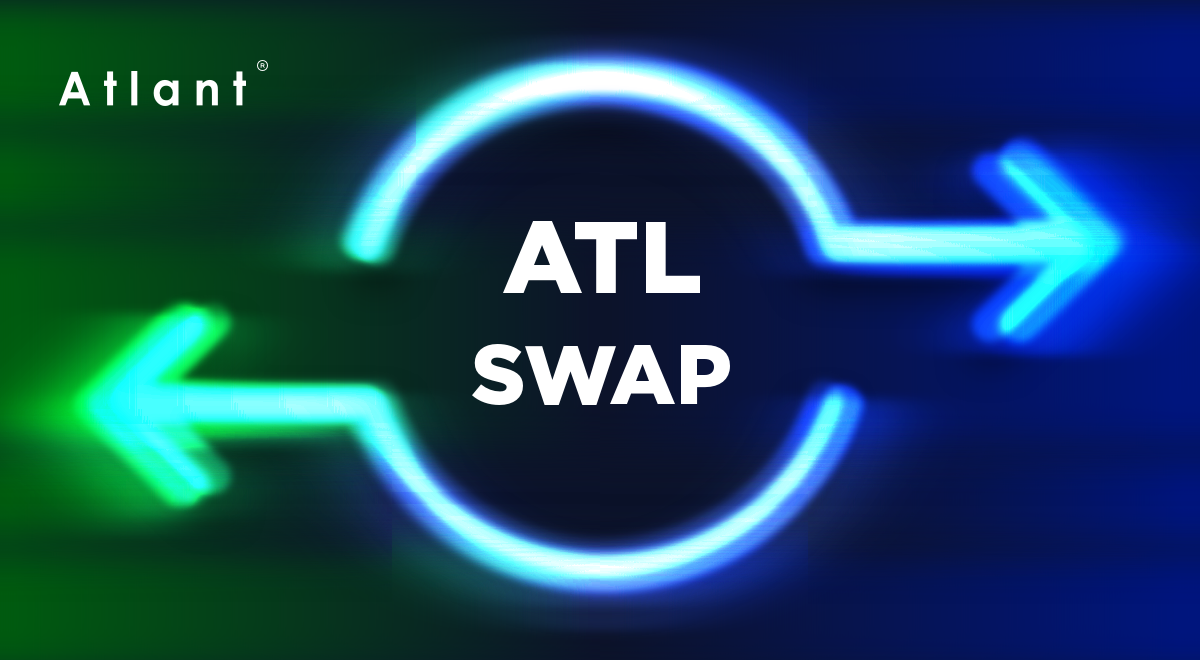 Atl Token Swap Announcement Atlant Team Which Currently Is The By Atlant Platform Atlant