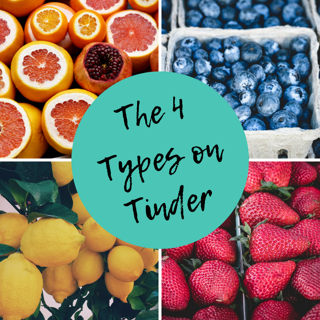 The Four Types of People on Tinder - Be Yourself
