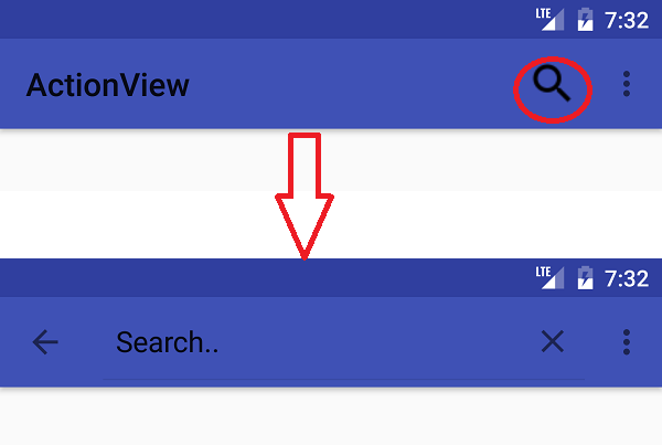 How to change Menu SearchView Widget Icon Color In Android