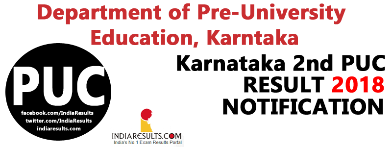 Karnataka PUC Result 2018 Name Wise — Karnataka 2nd PUC result 2018