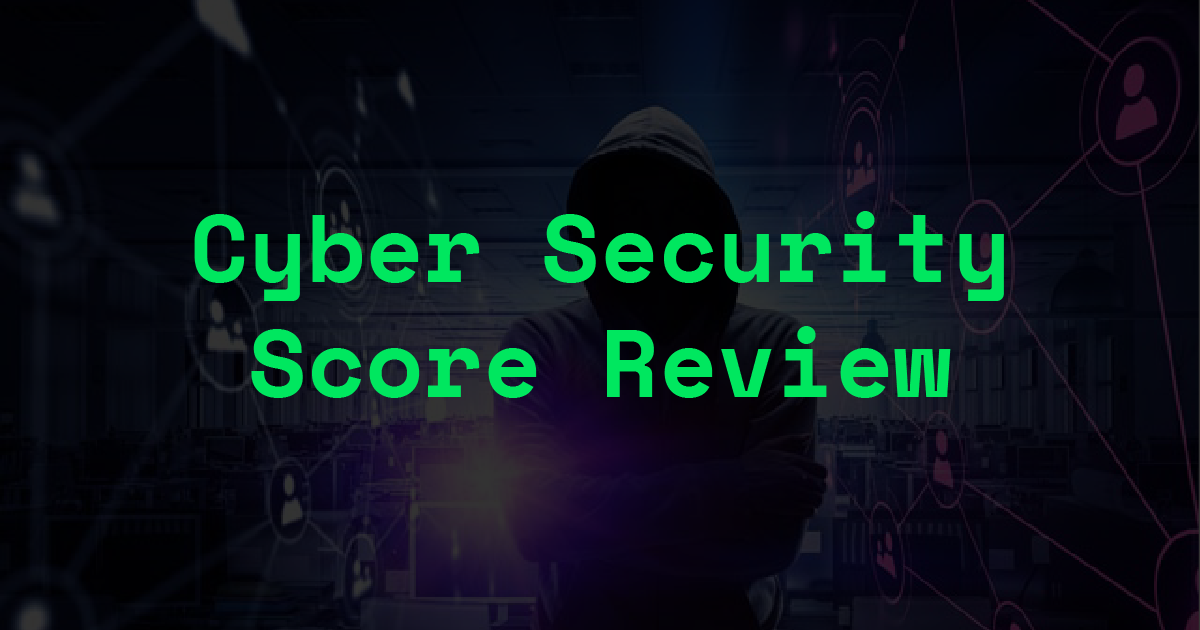 Crypto exchanges' cybersecurity score review by CER