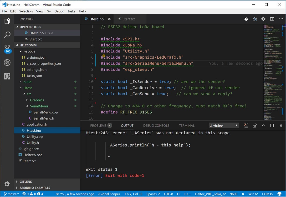 Use Visual Studio Code for Arduino - Home Wireless - Medium