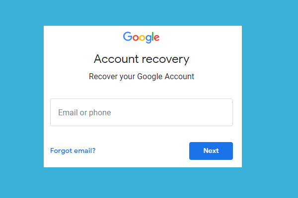 Google Account Recovery how to get (2021)