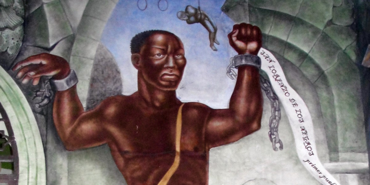 Brought to Mexico in chains, Gaspar Yanga and his followers staged a bloody rebellion