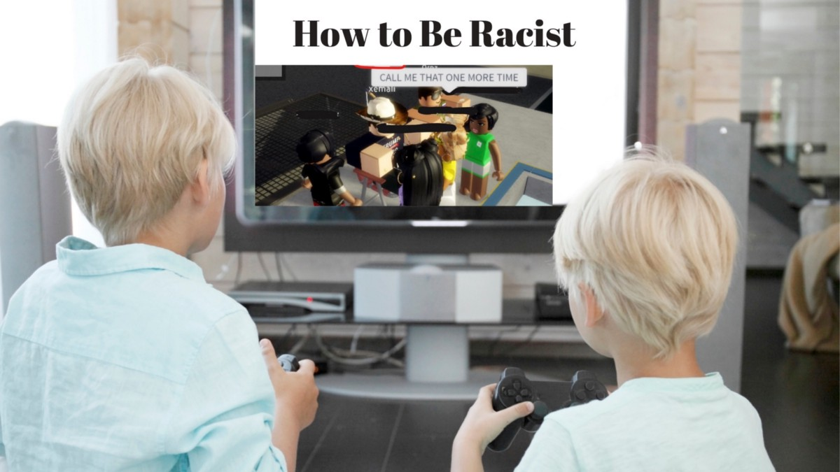 How To Get Speach Bubbles In Your Game In Roblox Racism In Your Kids Online Games By Tiffany Jana Sep 2020 Medium