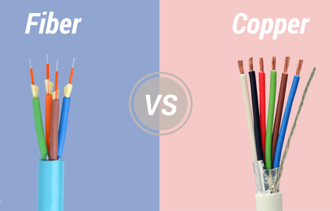 Benefits of Fiber Optic Cables over Copper Wire
