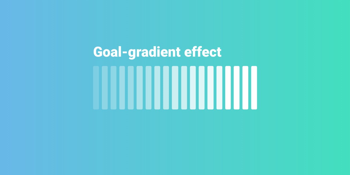 Designing for motivation with the goal-gradient effect