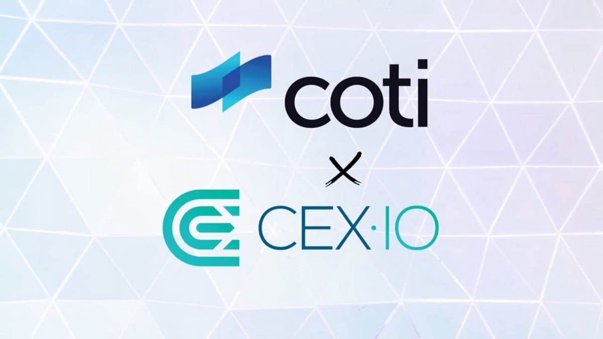CEX.IO listed COTI!