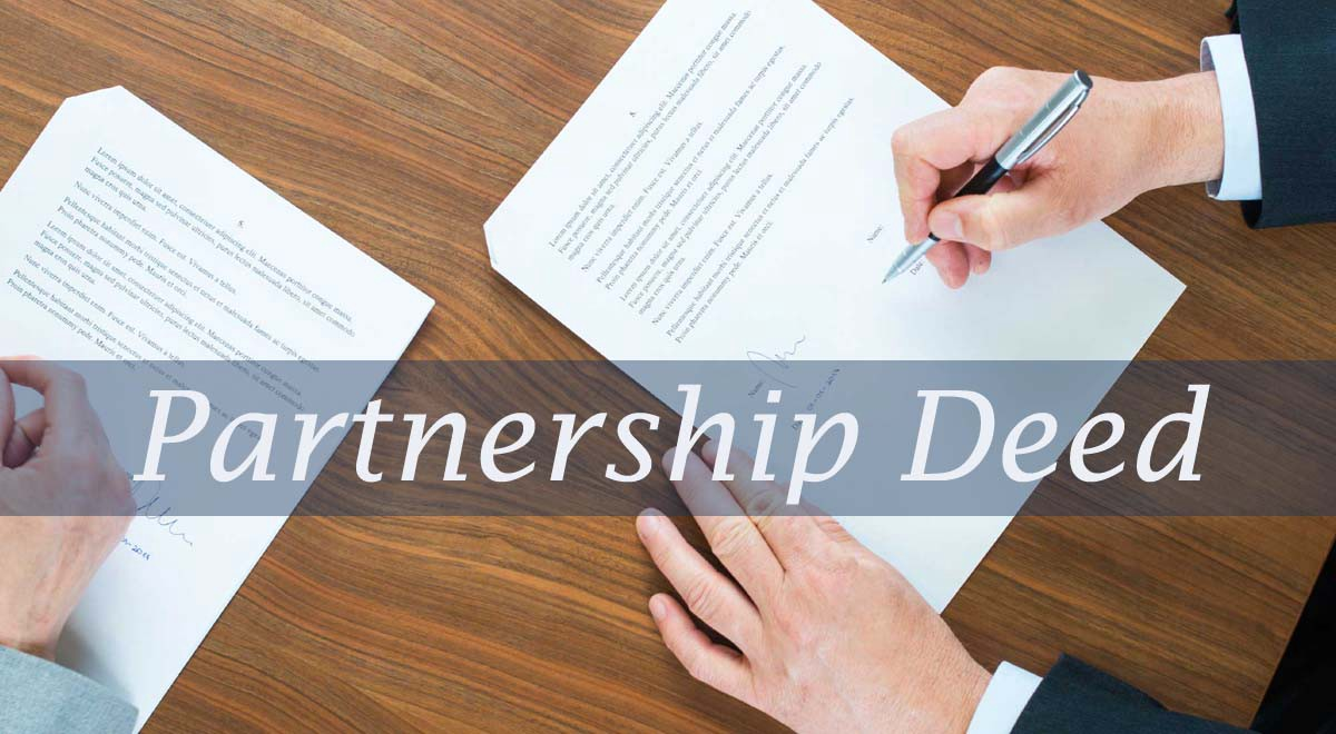 Image result for partnership deed