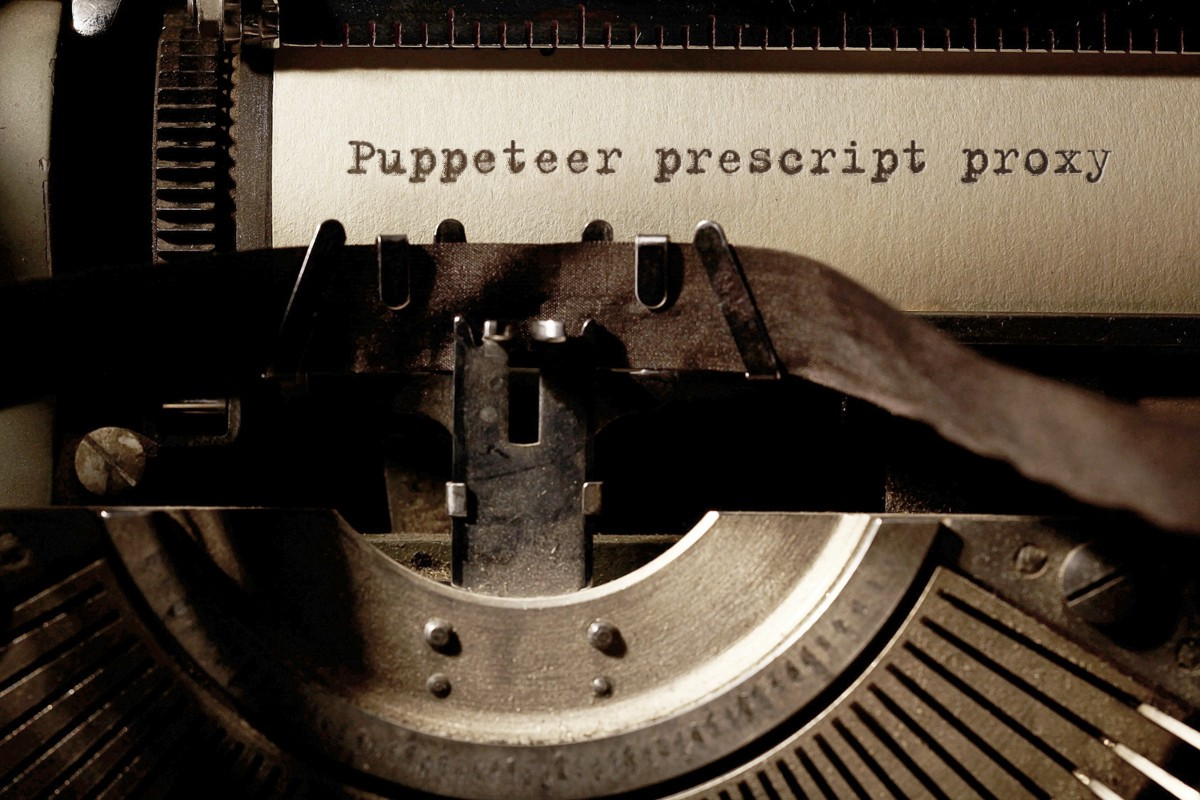 Puppeteer with prescript & How I use Proxy in javascript +