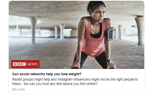 Can Social Networks Help You Lose Weight? An analysis of