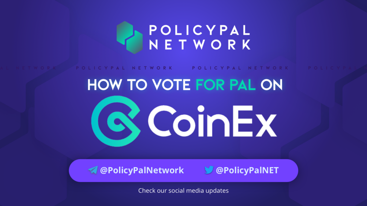 How to Vote for PAL on CoinEx - PAL Network team - Medium