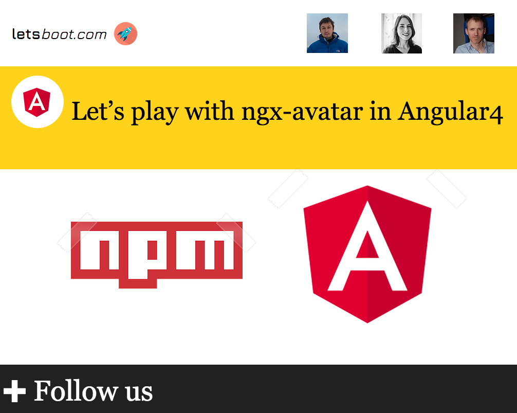 Let's play with ngx-avatar in Angular4 - letsboot - Medium